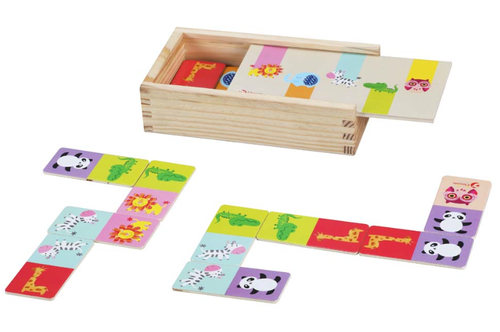 Wild Animal Domino Set