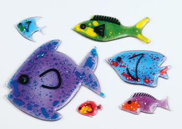 Squidgy Sparkle Fish 6pk