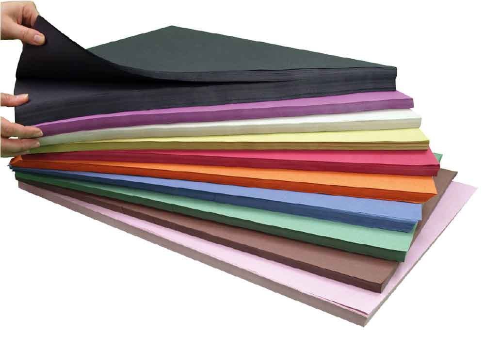 A2 Sugar Paper 250Sht Asstd Colour