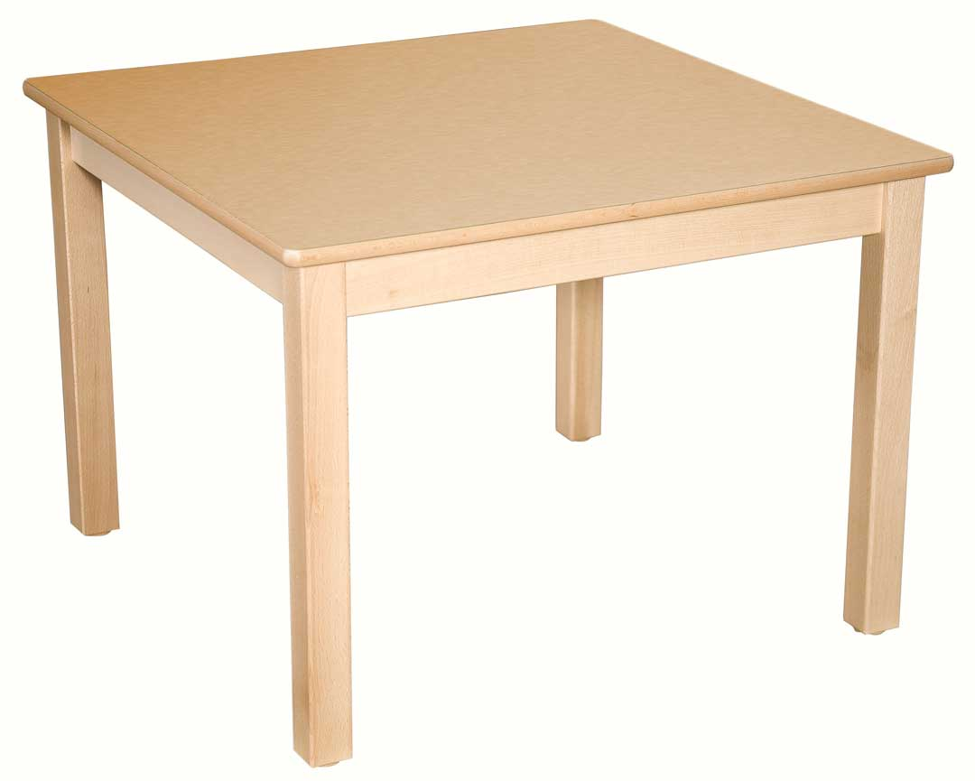 Square Table 76Cm All Colours