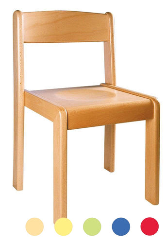 Wooden Chair 31cm All Colours
