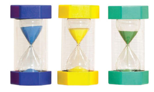 Large Sand Timer - 3 Minute Yellow