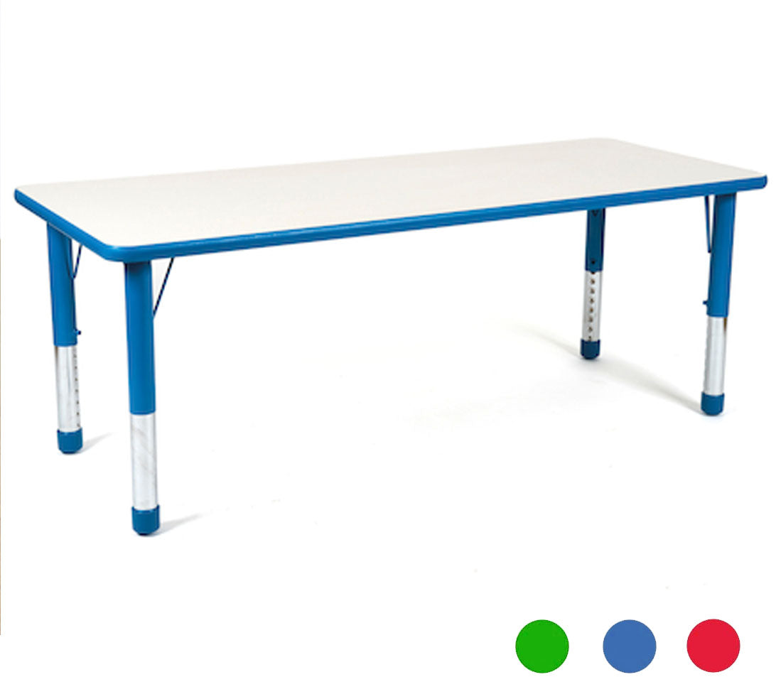Valencia Rectangular 6 Seater Table - All colours