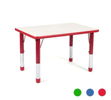 Valencia Rectangular 4 Seater Table - All colours