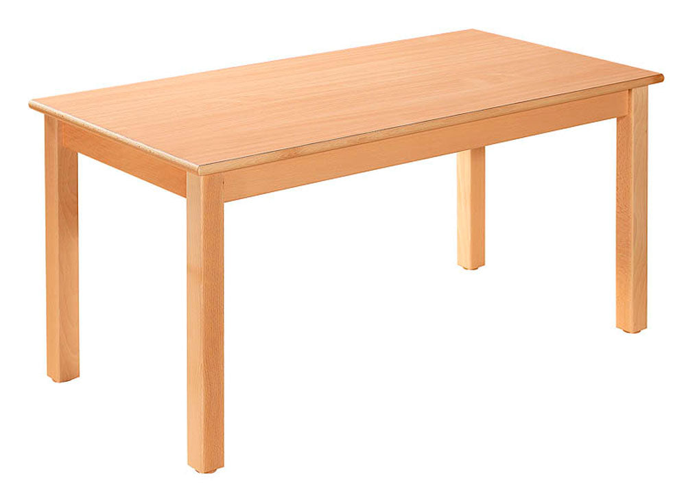 Rectangular Table Natural  All Heights