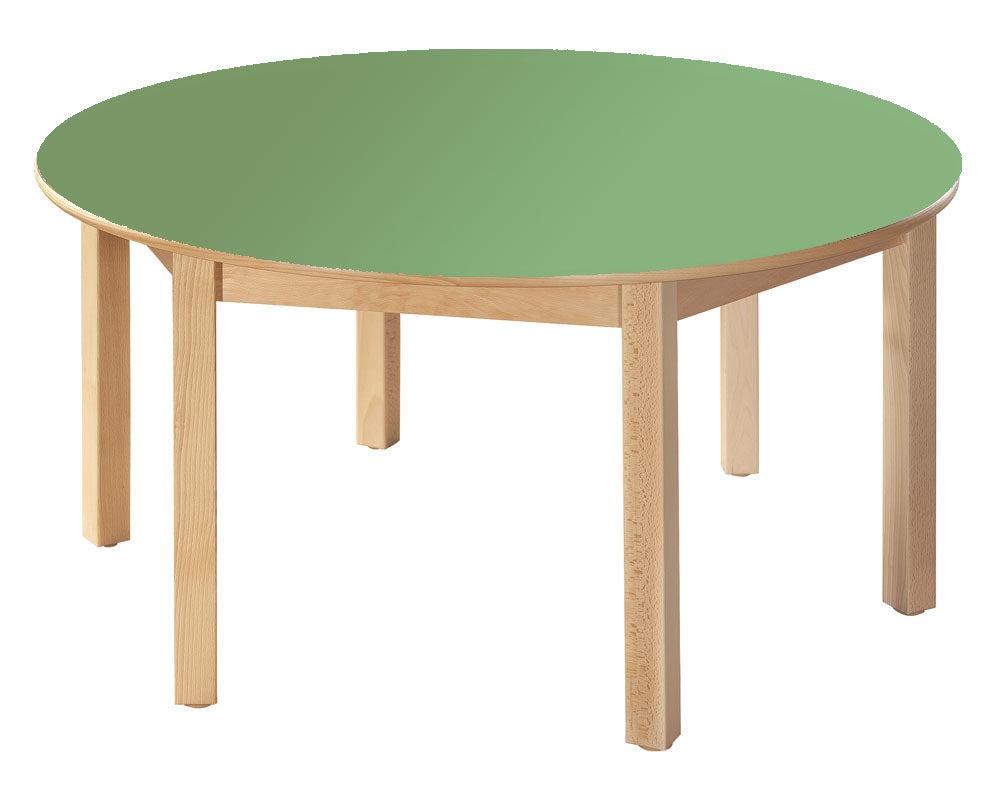 Round Table Green All Heights