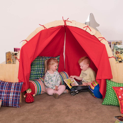 Wooden Framed Playtent with Storage