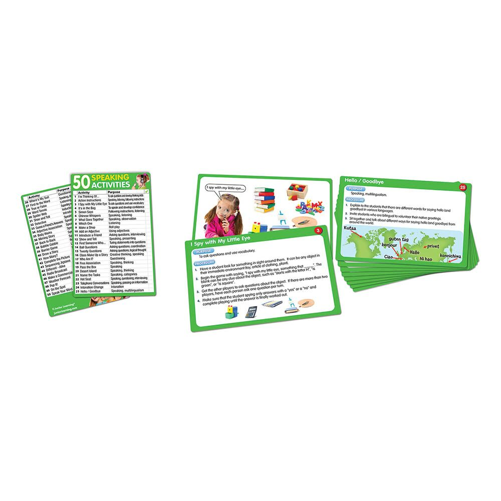 Speaking Activity Cards