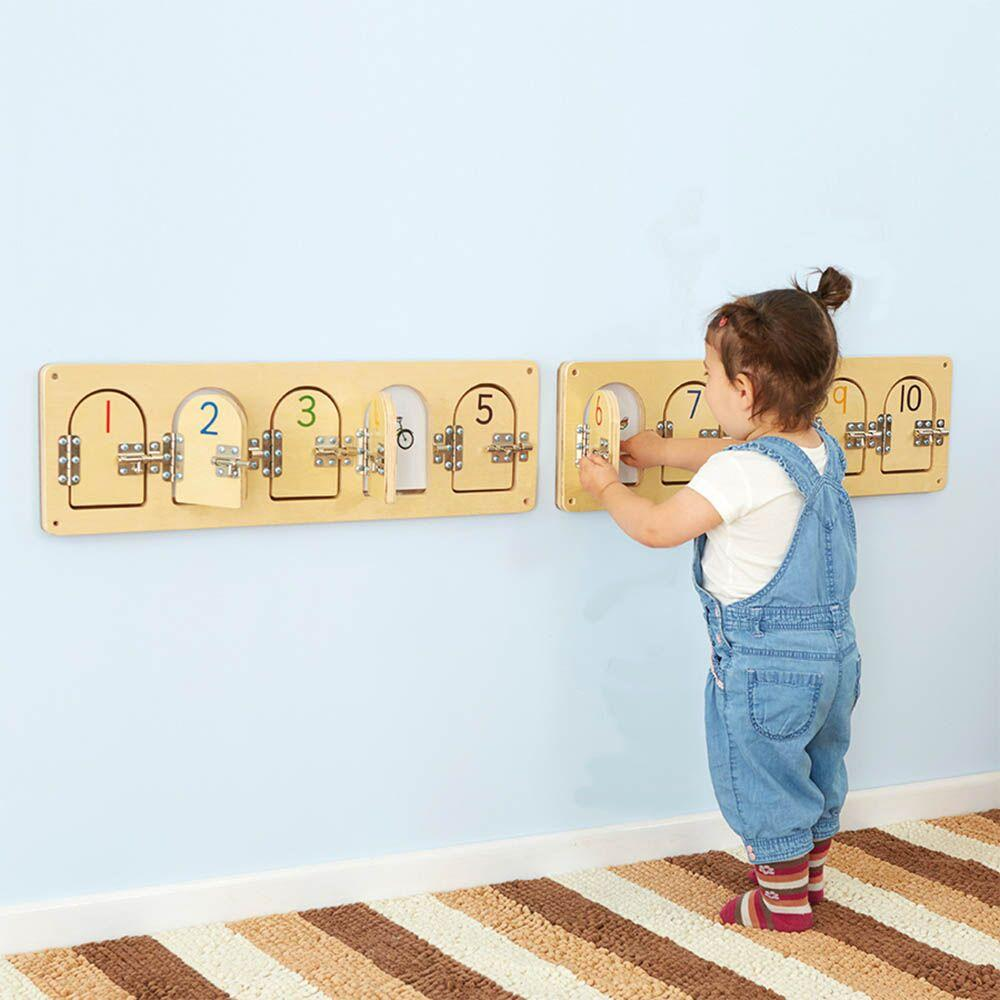 Wooden Discovery Doors with Latches