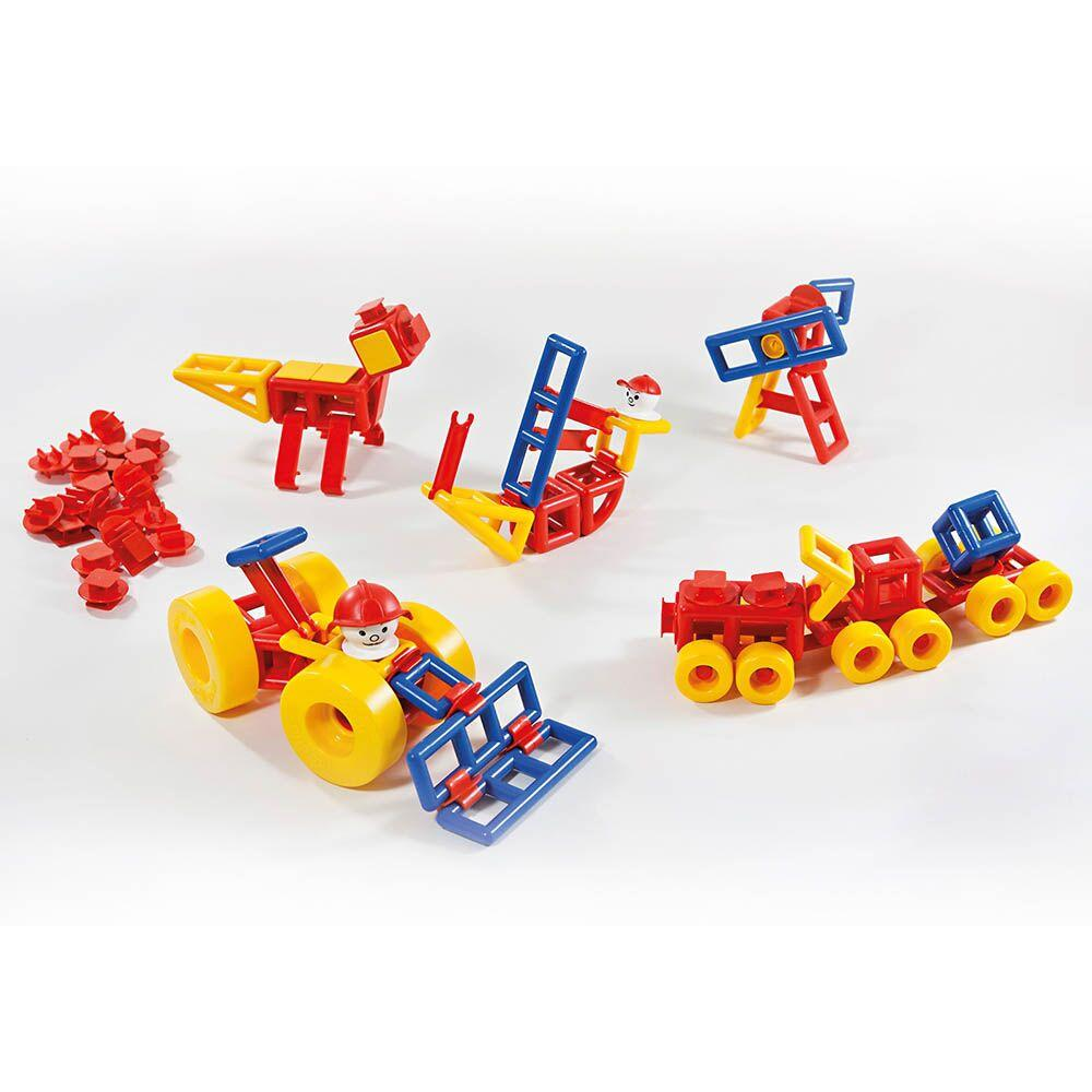 Mobilo Building and Construction Pieces 424pk
