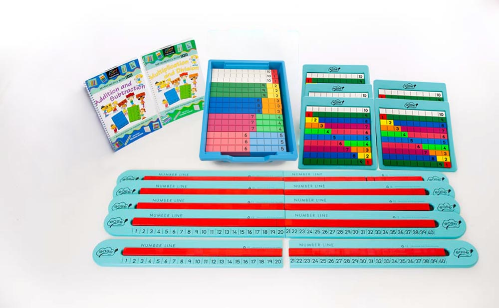 Number Line 1 - 40 Class Book Packs