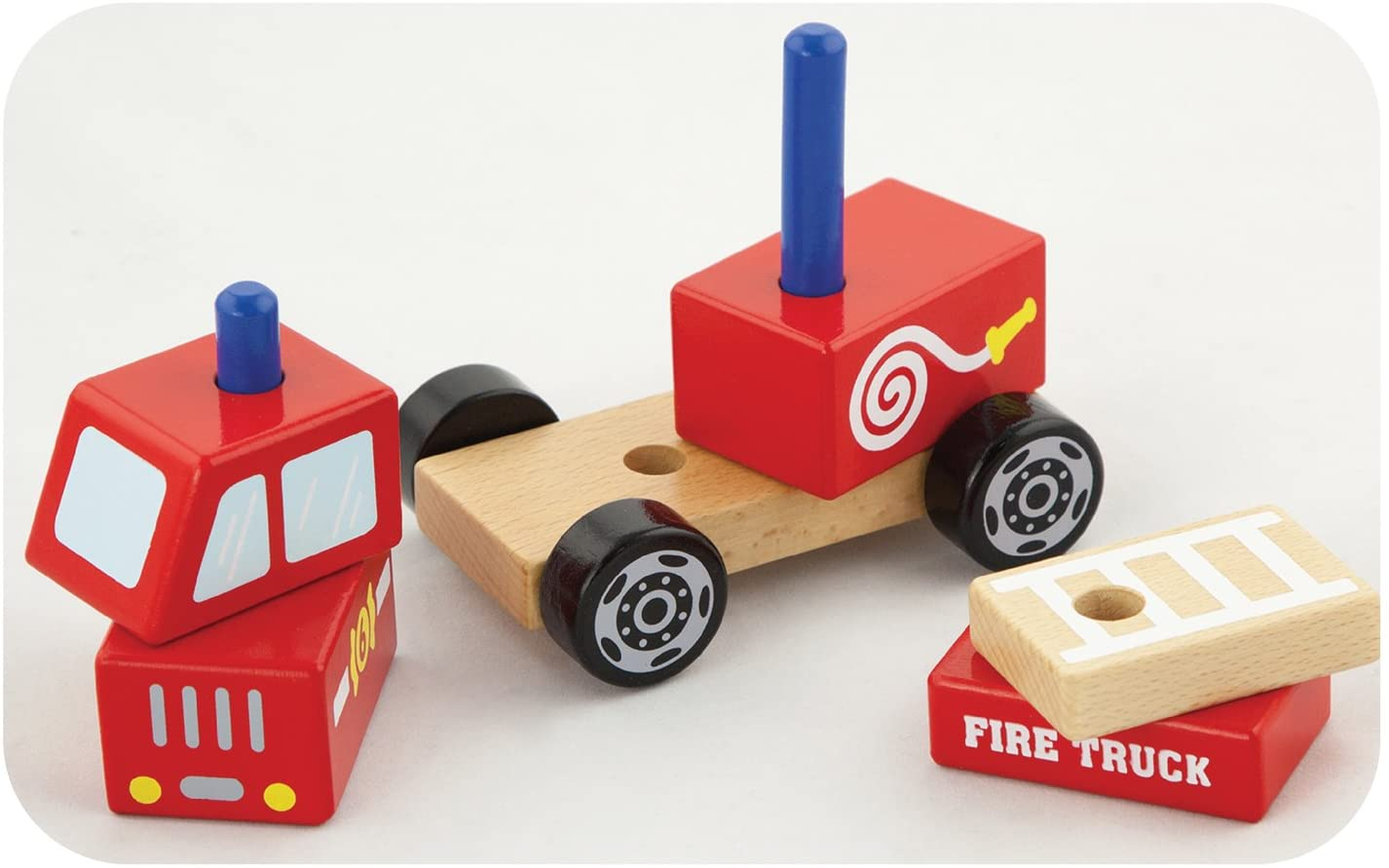 Stacking Fire Truck