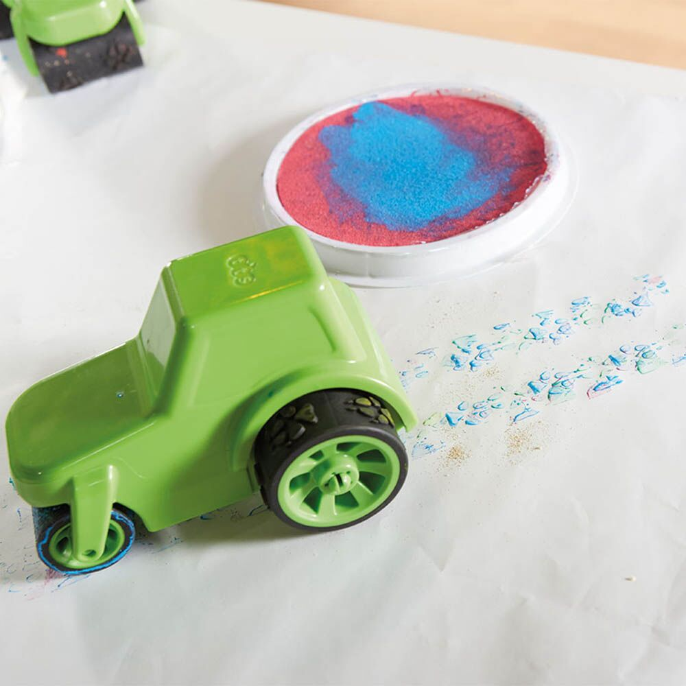 Mark Making Messy Painting Trucks 4pk