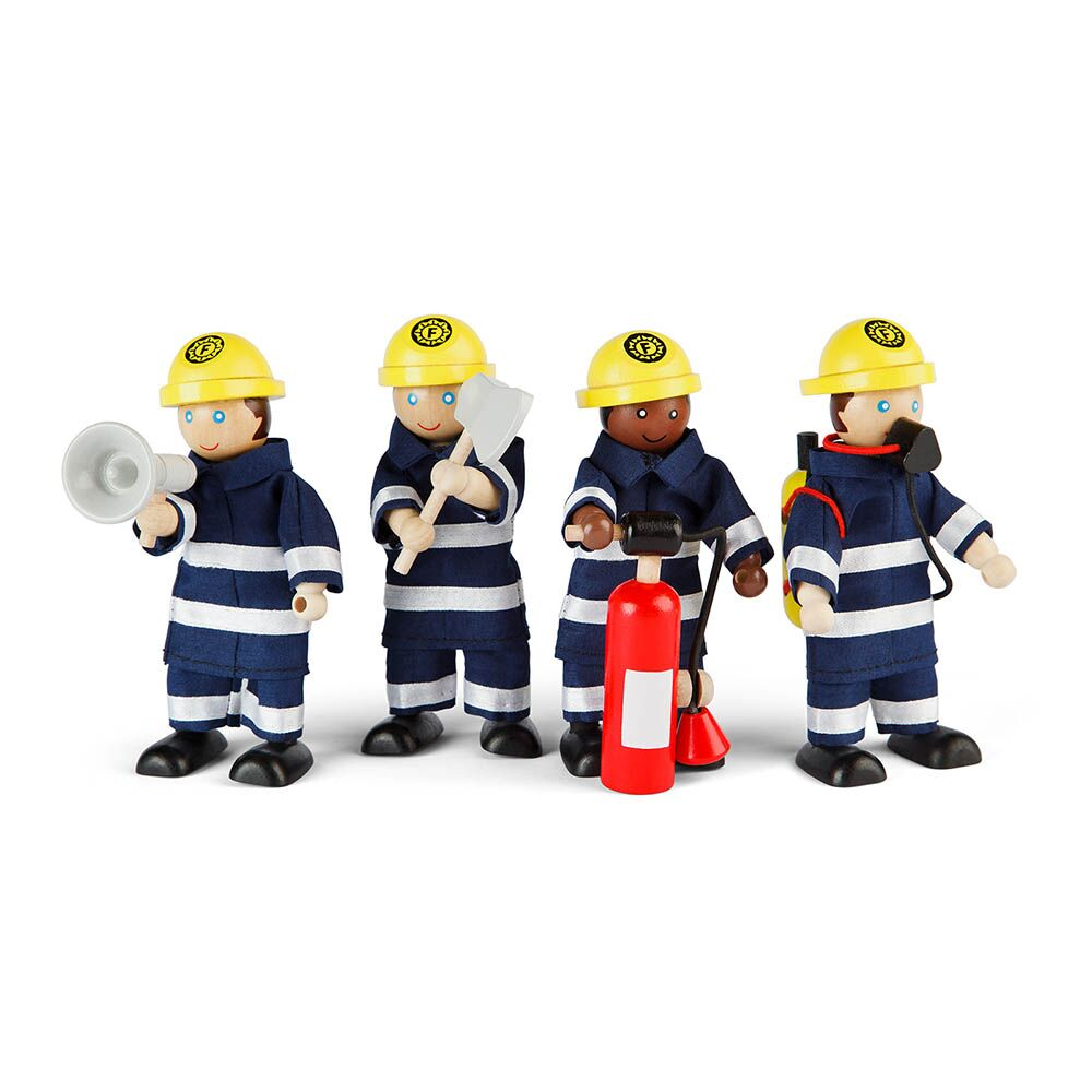 Small World Fire Fighters and Accessories
