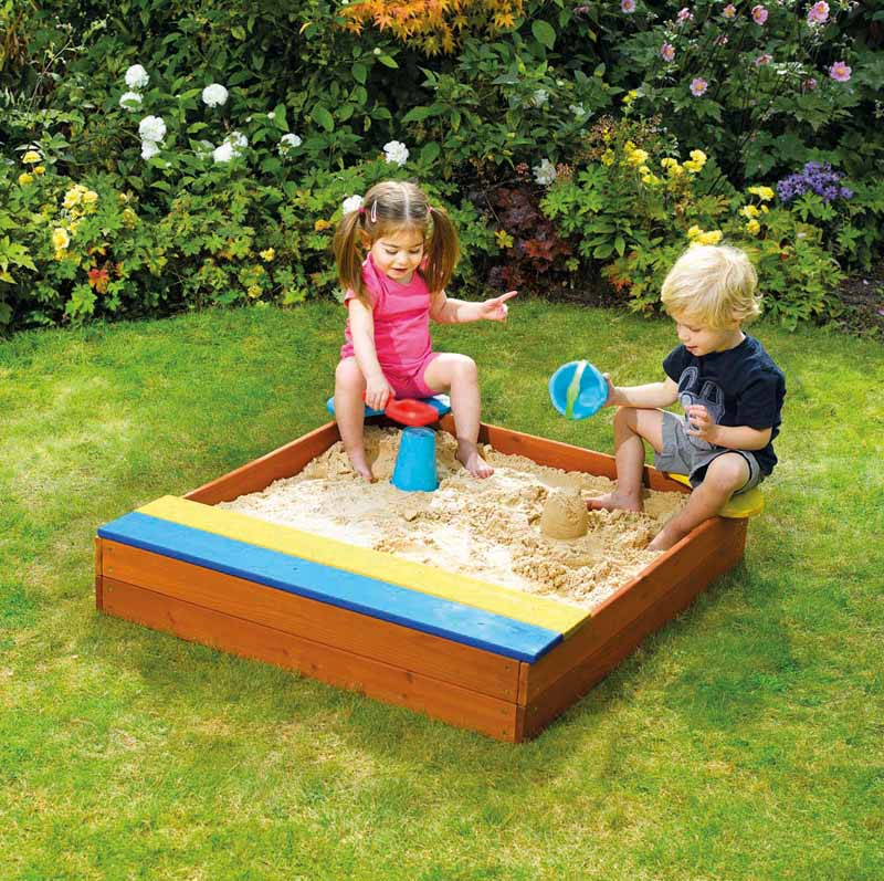 Store it Wooden Sand Pit