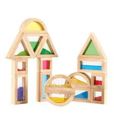 Wooden Sensory Blocks