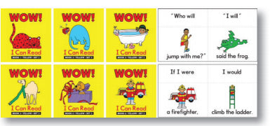 Wow I Can Read Books Set 2 Yellow