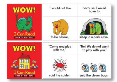 Wow I Can Read Books Set 3 Red
