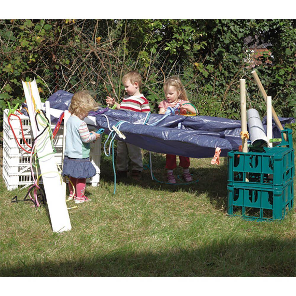 Den Building with Crates Kit