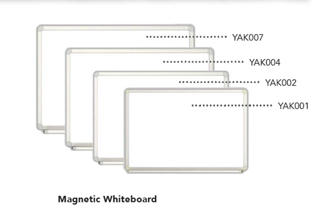 Magnetic Whiteboard - 90x120cm