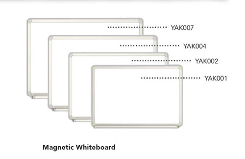 Magnetic Whiteboard - 60X90cm