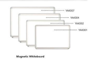 Magnetic Whiteboard - 120x120cm