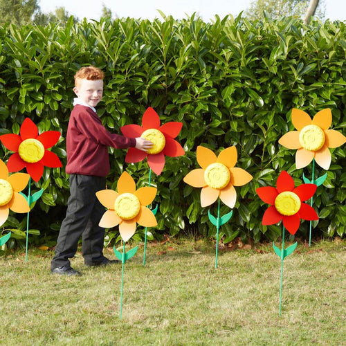 Outdoor Recordable Talking Flowers 10pk