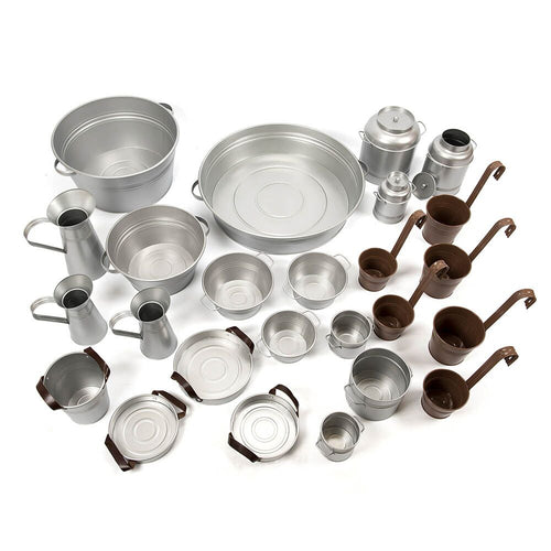 Metal Messy Play Set