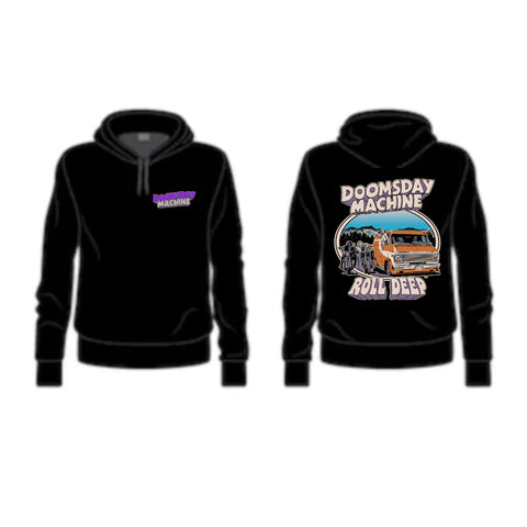 Roll Deep Hoodie (Image Back w Front Logo)