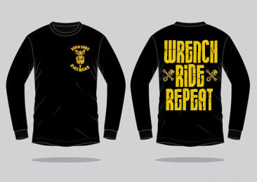 *NEW* Wrench Ride Repeat Long sleeve