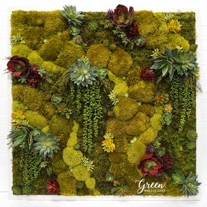 Bohemian Desert Amazonia collection preserved moss art
