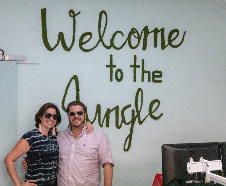 Meet Jon and Lindsay - The Owners of Green Wallscapes