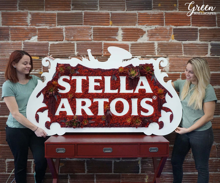 Moss Logo for Stella Artois