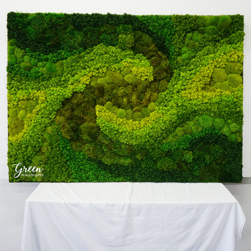 Ombre Sunrise Moss Art - Free Shipping!