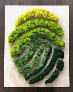 Moss Fingerprint Art