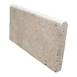 Ivory Travertine 12x24 5 cm Tumbled Pool Coping - TILE AND MOSAIC DEPOT