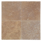 Noce Travertine 12x12 3cm Tumbled Paver - TILE AND MOSAIC DEPOT