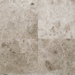 Tundra Gray Marble 18x18 Honed Tile - TILE AND MOSAIC DEPOT