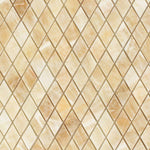 Honey Onyx Polished 1x2 Diamond Mosaic Tile - TILE & MOSAIC DEPOT