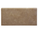 Noce Travertine 12x24 5cm Unfilled and Honed Pool Coping - TILE AND MOSAIC DEPOT