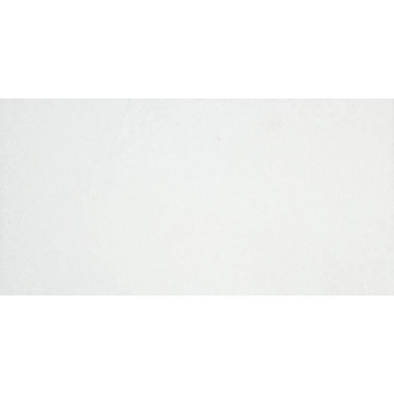 Thassos White Marble 3x6 Honed Marble Tile - TILE AND MOSAIC DEPOT
