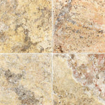 Scabos Travertine 6x6 Tumbled Tile - TILE AND MOSAIC DEPOT