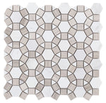Aether Loft 11.5 x 12 Special Design Polished Mosaic Tile
