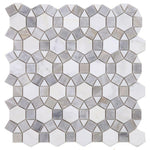 Aether Dusk 11.5 x 12 Special Design Polished Mosaic Tile