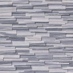 Alaska Gray 6x24 3D Stacked Stone Ledger Panel - TILE AND MOSAIC DEPOT
