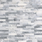 Alaska Gray Multi Finish 6x24 3D Stacked Stone Ledger Panel - TILE AND MOSAIC DEPOT
