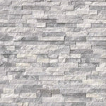 Alaska Gray 4.5x16 Mini Stacked Stone Ledger Panel - TILE AND MOSAIC DEPOT