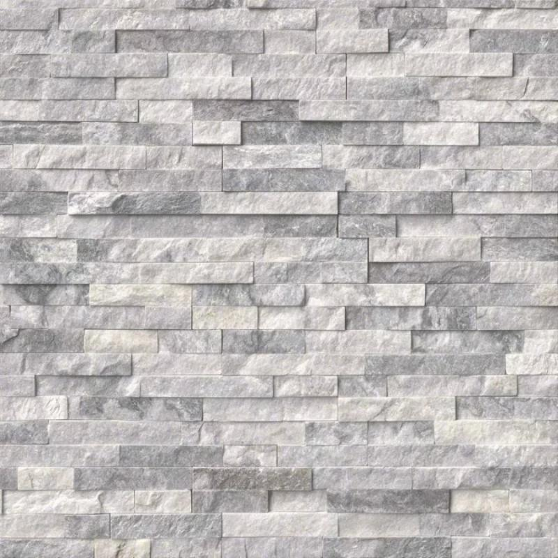 Alaska Gray 6x24 Stacked Stone Ledger Panel - TILE & MOSAIC DEPOT