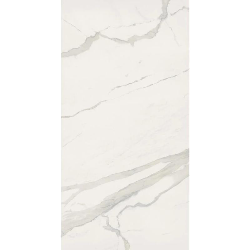 Bianca Calacatta 24X48 Polished Rectified Porcelain Tile - TILE AND MOSAIC DEPOT