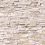 Arctic Gold 6x24 Stacked Stone Ledger Panel - TILE AND MOSAIC DEPOT
